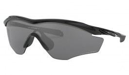 Oakley M2 Frame XL Sunglasses - Polished Black / Black Iridium Polarised