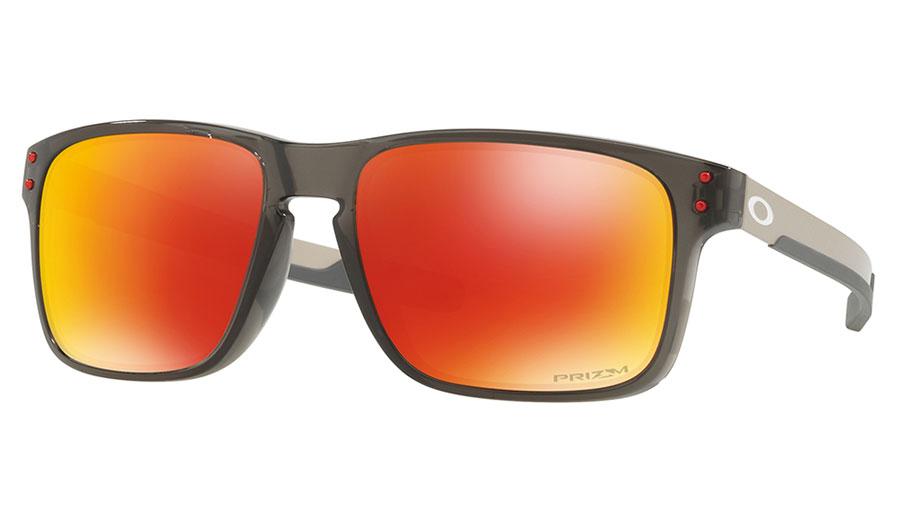 Oakley Holbrook Mix Sunglasses - Grey Smoke   Prizm Ruby Polarised ... 4577ca380a