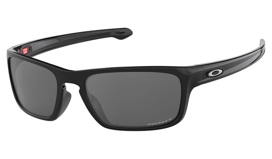 a39859ac706 Oakley Sliver Stealth Sunglasses - Polished Black   Prizm Black ...