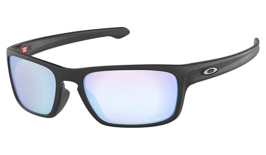 0fb8cdd5228 1. 2. 3. 4. PrevNext. Oakley Sliver Stealth Sunglasses - Matte Black   Prizm  Deep Water Polarised