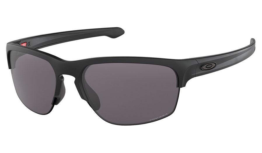 34941aab97a Oakley Sliver Edge Sunglasses - Matte Black   Prizm Grey - RxSport
