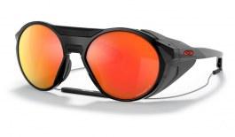 Oakley Clifden Sunglasses - Polished Black / Prizm Ruby Polarised