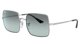 Ray-Ban RB1971 Square Sunglasses - Silver / Light Blue Gradient Evolve Photochromic