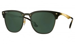 Ray-Ban RB3576N Blaze Clubmaster Sunglasses - Gold / Green
