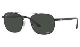 Ray-Ban RB3670CH Sunglasses - Black / Grey Crystal Chromance Polarised