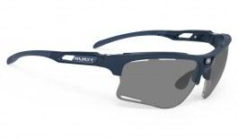Rudy Project Keyblade Prescription Sunglasses - ImpactRX Directly Glazed - Matte Navy Blue