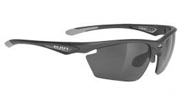 Rudy Project Stratofly Prescription Sunglasses - Clip-On Insert - Anthracite / Smoke Black