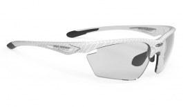 Rudy Project Stratofly Sunglasses - White Carbonium / ImpactX 2 Photochromic Black