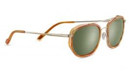 Serengeti Boron Sunglasses - Orange Tortoise & Light Gold / 555nm Polarised Photochromic