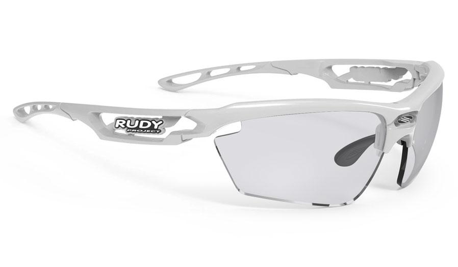 Rudy Project Fotonyk Prescription Sunglasses - ImpactRX Directly Glazed - White Gloss