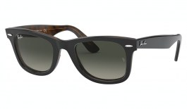 Ray-Ban RB2140 Original Wayfarer Sunglasses - Grey on Havana / Grey Gradient