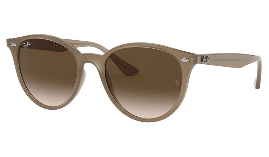 Ray-Ban RB4305 Sunglasses - Opal Beige / Brown Gradient