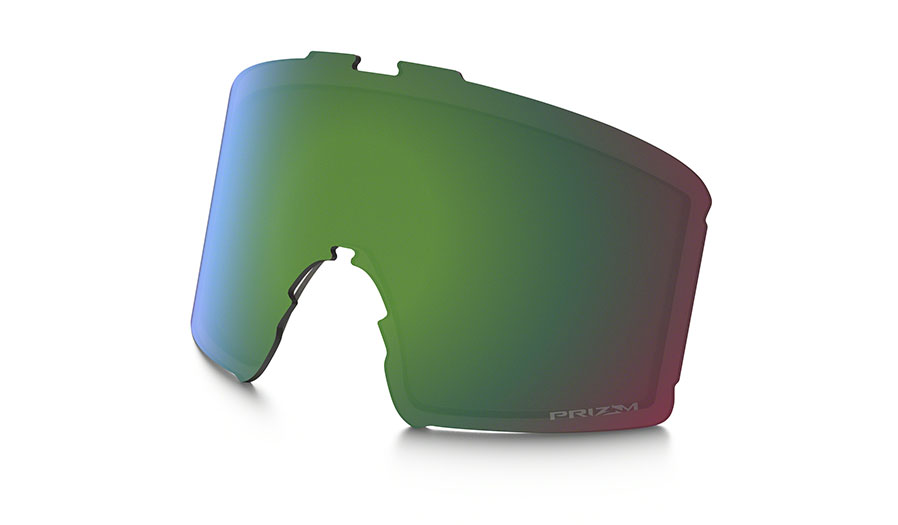 Oakley Line Miner Ski Goggles Replacement Lens Kit - Prizm Jade Iridium