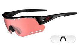 Tifosi Alliant Prescription Sunglasses - Clip-On Insert - Crystal Black / Enliven Bike