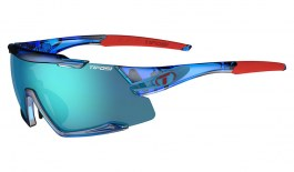 Tifosi Aethon Sunglasses - Crystal Blue / Clarion Blue + AC Red + Clear