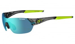 Tifosi Slice Sunglasses - Crystal Smoke / Clarion Blue + AC Red + Clear