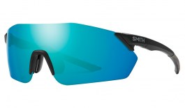 Smith Reverb Sunglasses - Matte Black / ChromaPop Opal Mirror + ChromaPop Contrast Rose