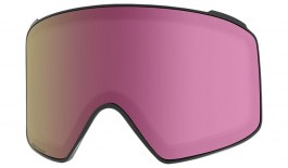 Anon M4 Cylindrical Ski Goggles Replacement Lens - Sonar Pink