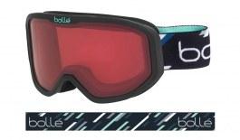 Bolle Inuk Ski Goggles - Matte Black Mint / Vermillon