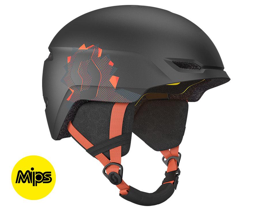 Scott Keeper 2 Plus MIPS Junior Ski Helmet - Black