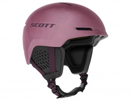 Scott Track Plus MIPS Ski Helmet - Cassis Pink & Red Fudge