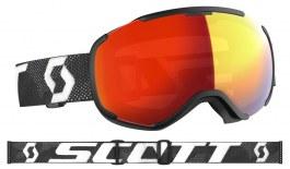 Scott Faze II Ski Goggles - Black & White / Light Sensitive Red Chrome Photochromic