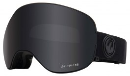 Dragon X2 Ski Goggles - Knight Rider / Dark Smoke + Lumalens Flash Blue + Lumalens Rose