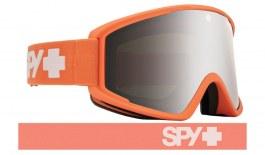 Spy Optic Crusher Elite Ski Goggles - Matte Coral / HD Bronze Silver Spectra