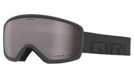 Giro Ringo Prescription Ski Goggles - Grey Wordmark / Vivid Onyx
