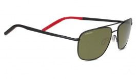 Serengeti Tellaro Sunglasses - Gloss Black & Red / 555nm Polarised Photochromic
