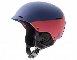 Atomic Automatic LF 3D Ski Helmet - Shade & Orange