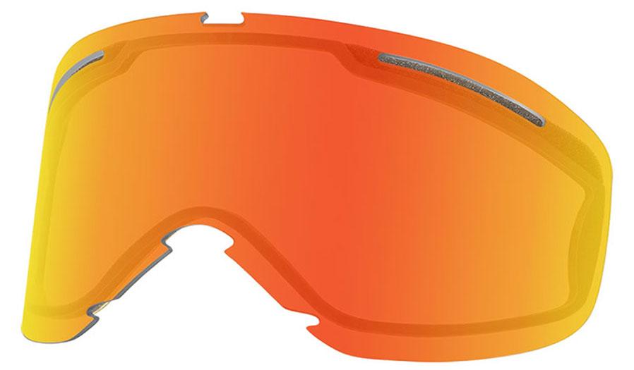 Oakley O Frame 2.0 Pro XS Ski Goggles Replacement Lens Kit - Fire Iridium