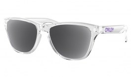 Oakley Frogskins XS Prescription Sunglasses - Polished Clear (Violet Icon)