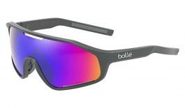 Bolle Shifter Sunglasses - Matte Titanium / Volt+ Ultraviolet Polarised
