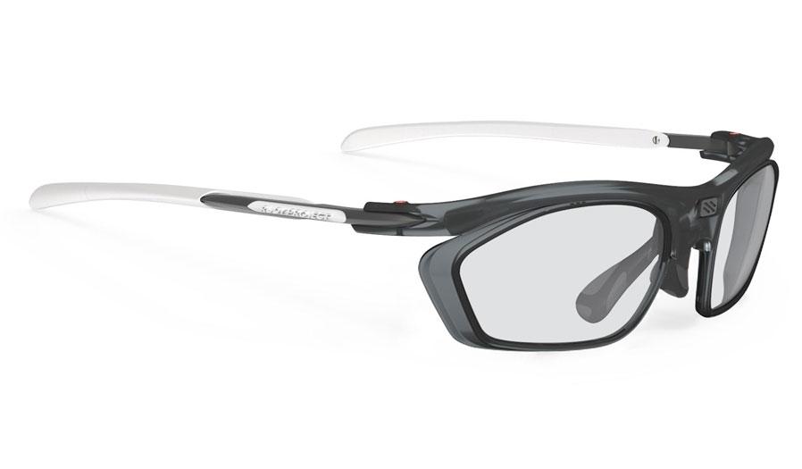Rudy Project Rydon Slim Prescription Sunglasses - Optical Dock - Frozen Ash & White (Frozen Ash Optical Dock)