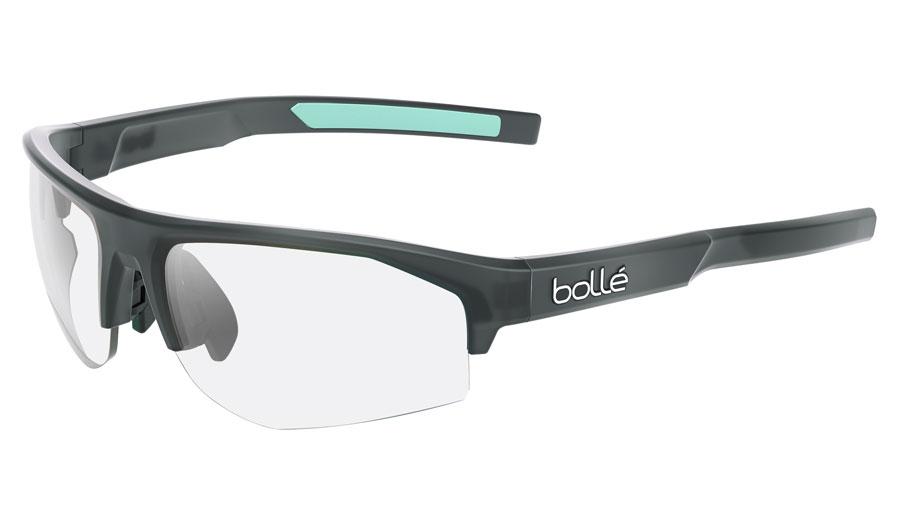Bolle Bolt 2.0 S Prescription Sunglasses - Matte Crystal Black