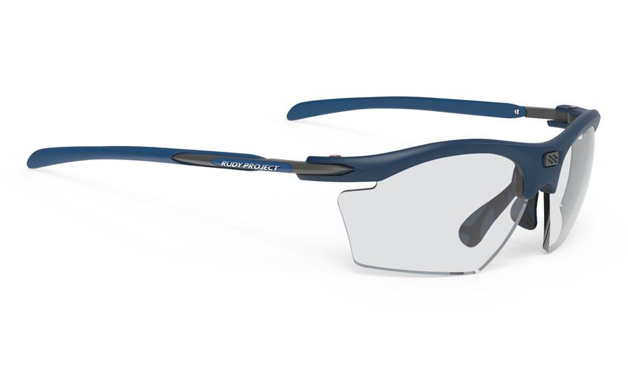 Rudy Project Rydon Slim Prescription Sunglasses - Directly Glazed - Matte Navy Blue