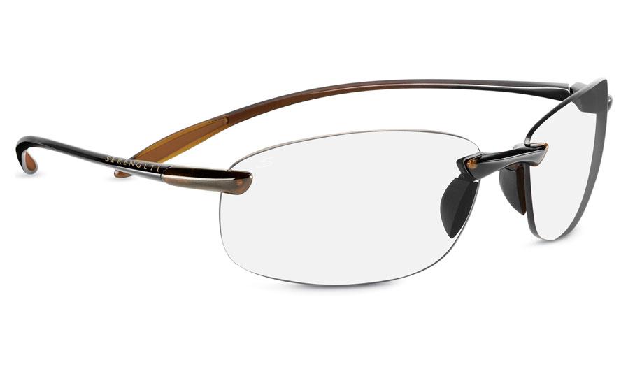 81e3e675466 Serengeti Nuvino Prescription Sunglasses - Shiny Brown .