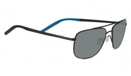 Serengeti Tellaro Prescription Sunglasses - Matte Black & Blue