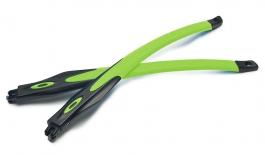 Oakley Crosslink / Crosslink Sweep Temple Kit - Satin Black & Retina Burn