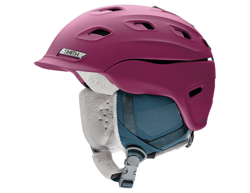 Smith Vantage Women's MIPS Ski Helmet - Matte Grape