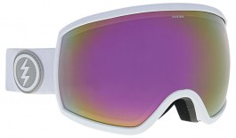 Electric EGG Ski Goggles - Matte White / Brose Pink Chrome