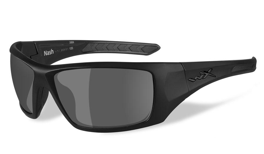 Wileyx Nash Sunglasses Matte Black Green Blue Mirror