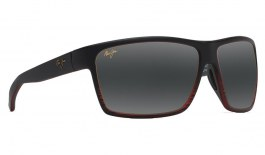 Maui Jim Alenuihaha Prescription Sunglasses - Burgundy Stripe