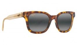 Maui Jim Shore Break Prescription Sunglasses - Matte Tortoise with Matte Trans Tan
