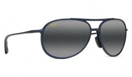 Maui Jim Alelele Bridge Prescription Sunglasses - Matte Blue