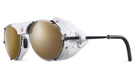 Julbo Cham Sunglasses - Chrome & White / Spectron 4