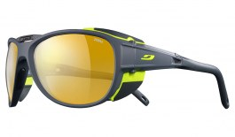 Julbo Explorer 2.0 Sunglasses - Matte Grey & Yellow / Reactiv Performance 2-4 Gold Photochromic