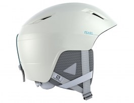 Salomon Pearl 2+ Ski Helmet - White & Blue Bird