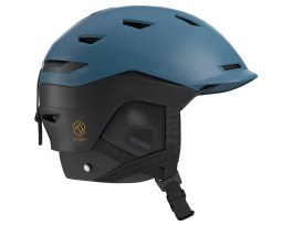 Salomon Sight Custom Air Ski Helmet - Moroccan Blue & Black